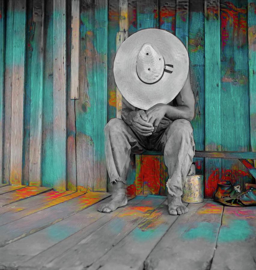 Hard Worker Resting by Carlos Diaz