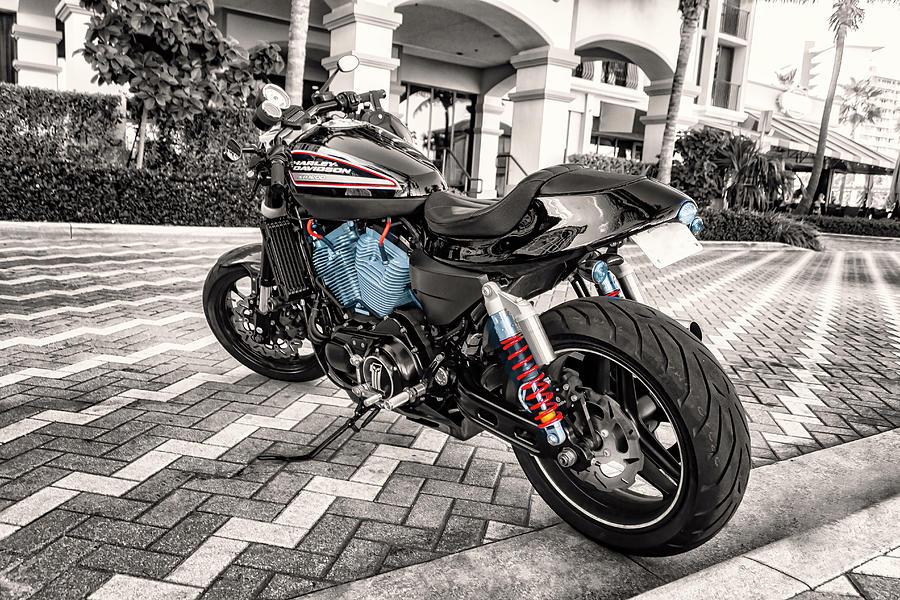 Harley Davidson Motorcycle 3936 by Carlos Diaz