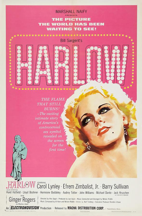 harlow, With Carol Lynley, 1965 Mixed Media