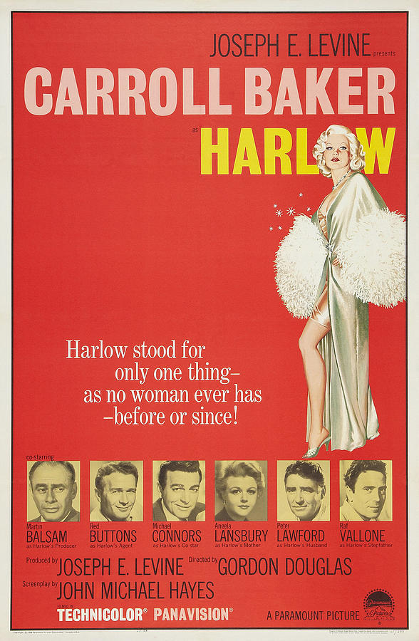 harlow, With Carroll Baker, 1965 Mixed Media