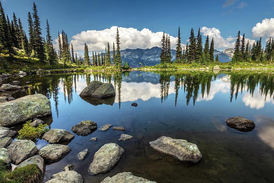 Harmony Lake Whistler Photograph
