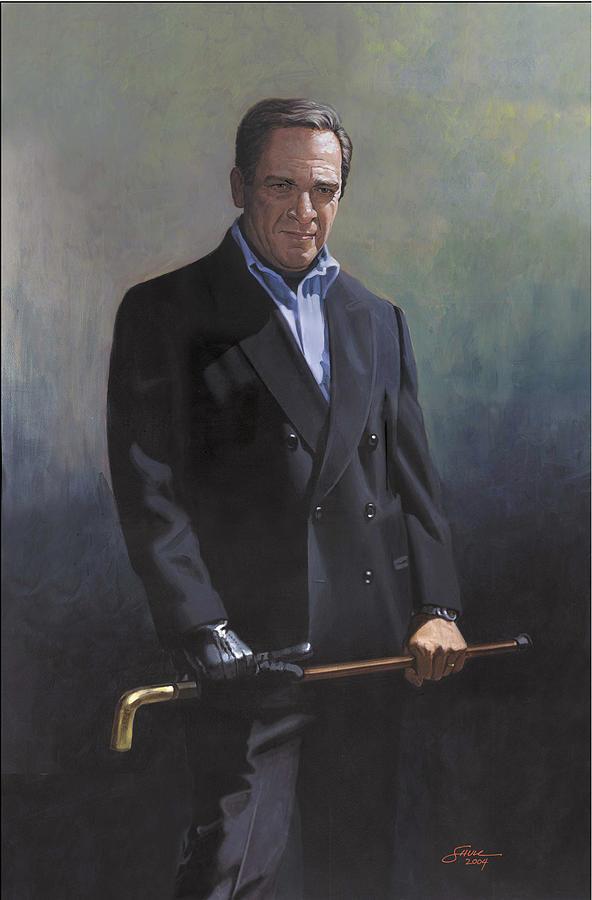 Harold Shull Circa 2004 Painting by Harold Shull