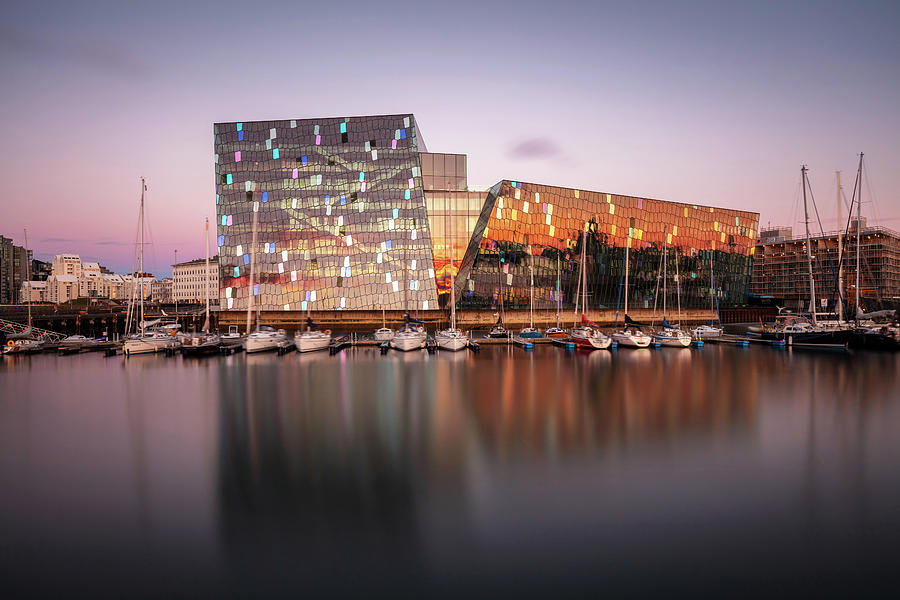 Harpa Reykjavik Concert Hall And Conference Centre Photograph