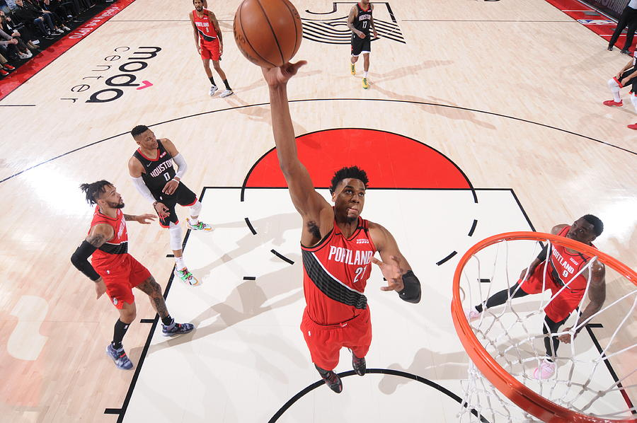 Hassan Whiteside Photograph by Sam Forencich