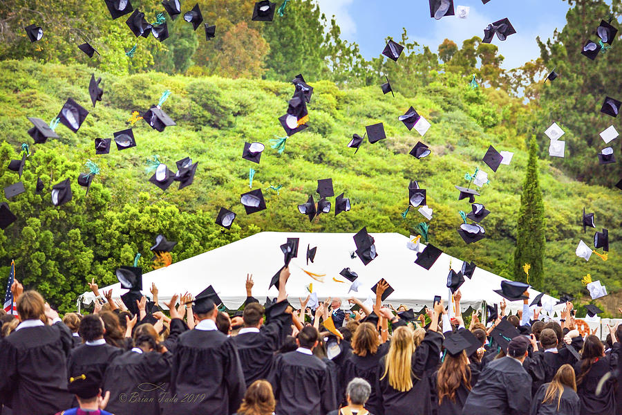 Hats Off To The Graduates Photograph