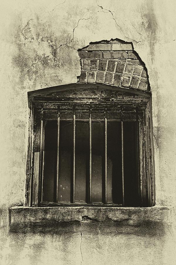Hattiesburg Jail Photograph by Harriet Feagin