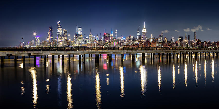Have You Ever Saw This Mini Manhattan On The Pier Photograph