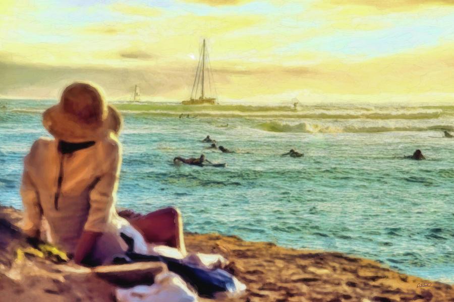 Hawaiian Vacation - Dwp1931164 Painting