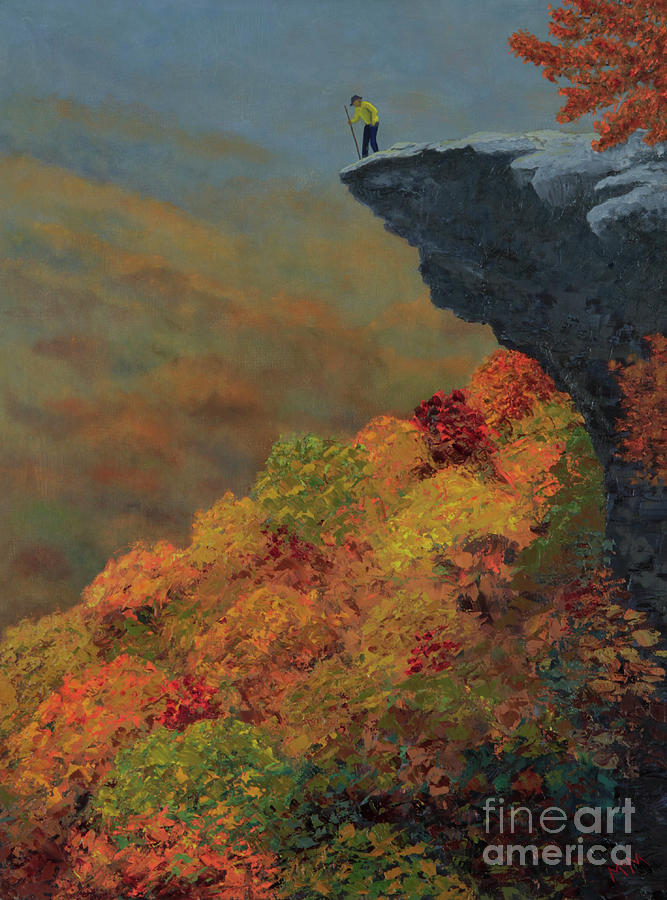 Hawksbill Crag by Garry McMichael