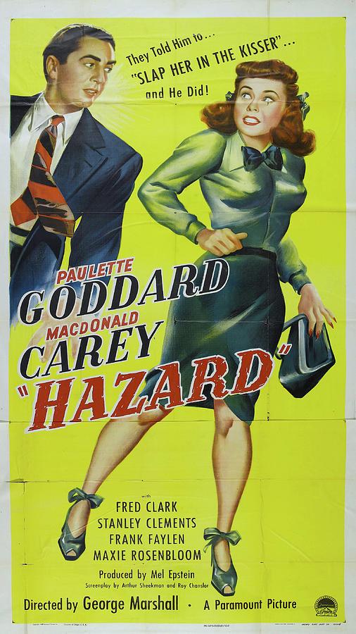 hazard, With Paulette Goddard And Macdonald Carey, 1948 Mixed Media