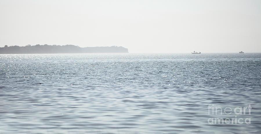 Hazy Photograph - Hazy Summer Day At The Bay by Felix Lai