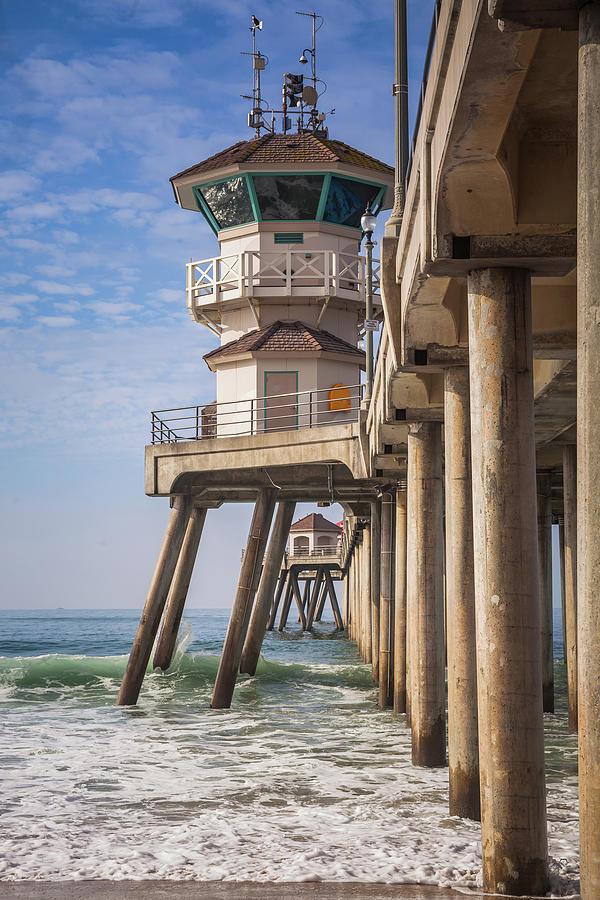 HB Lifeguard Tower by Cliff Wassmann