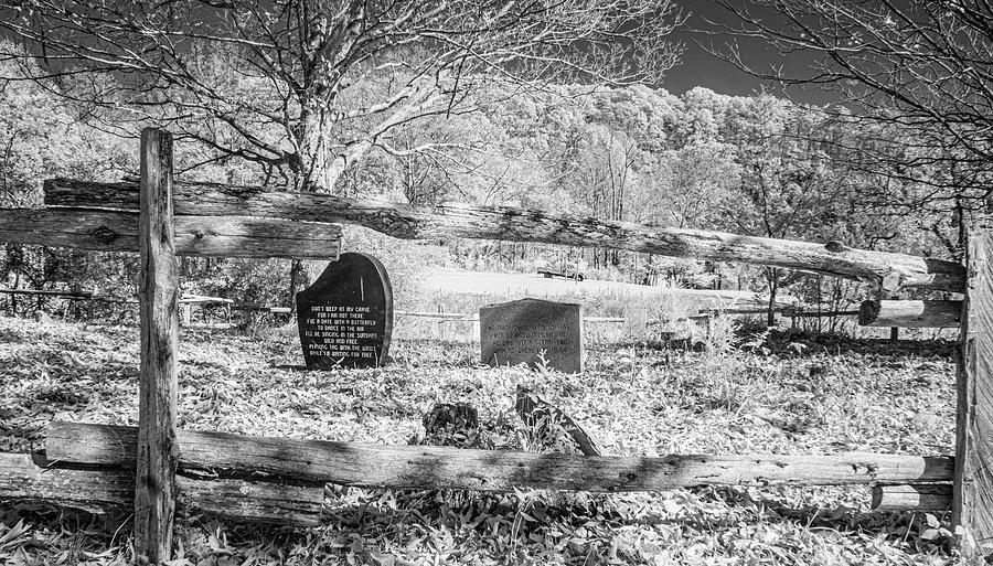 Cemetery Photograph - He Made Dying Seem So Easy by Jim Cook