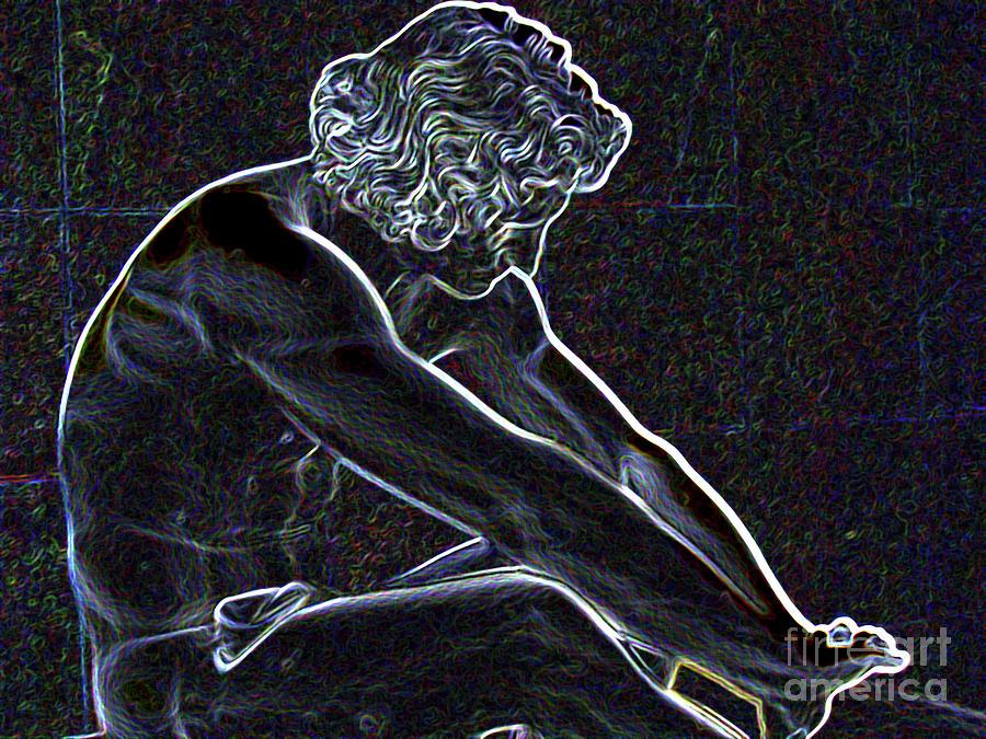 He Statue Photograph