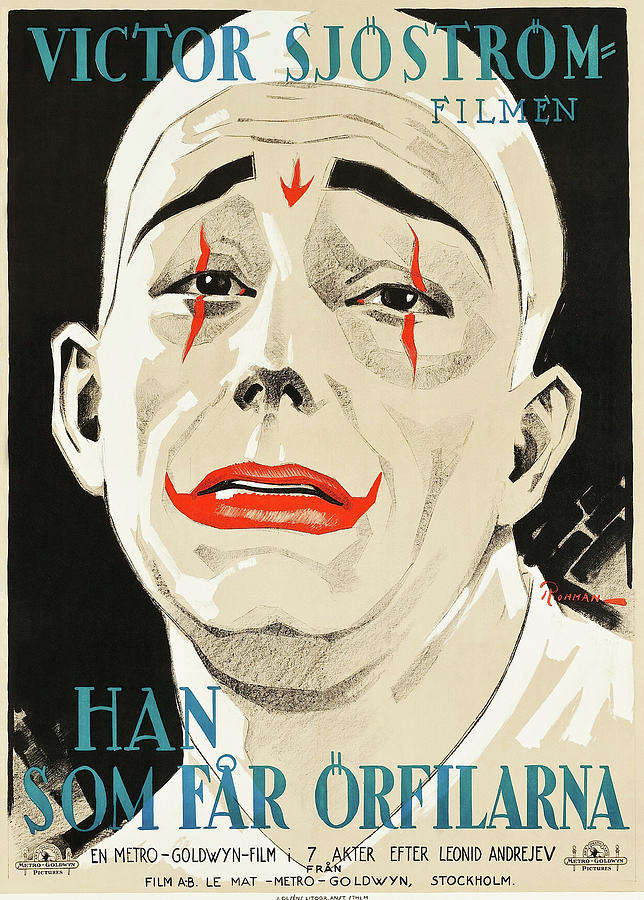 he Who Gets Slapped, With Lon Chaney And Norma Shearer, 1924 Mixed Media