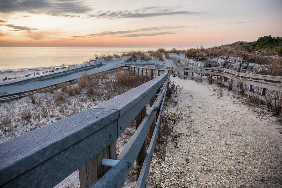 Cape May Photograph - Heading To The Shore by Kristopher Schoenleber