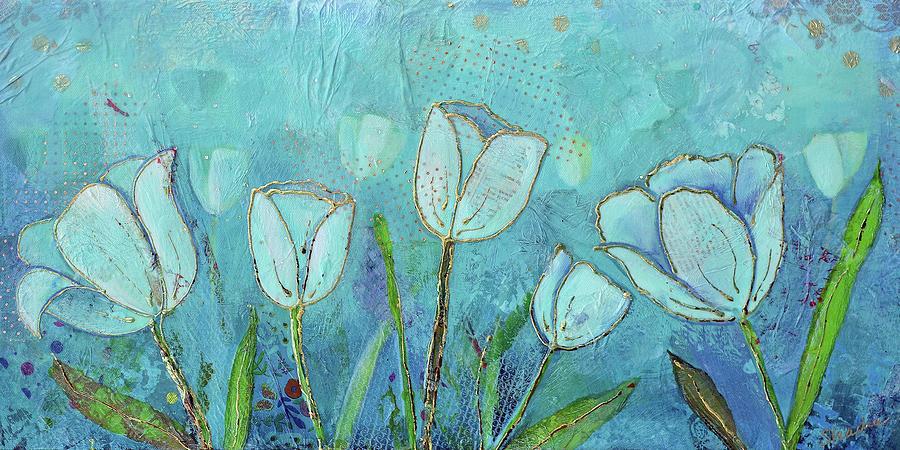 Healing Garden Painting