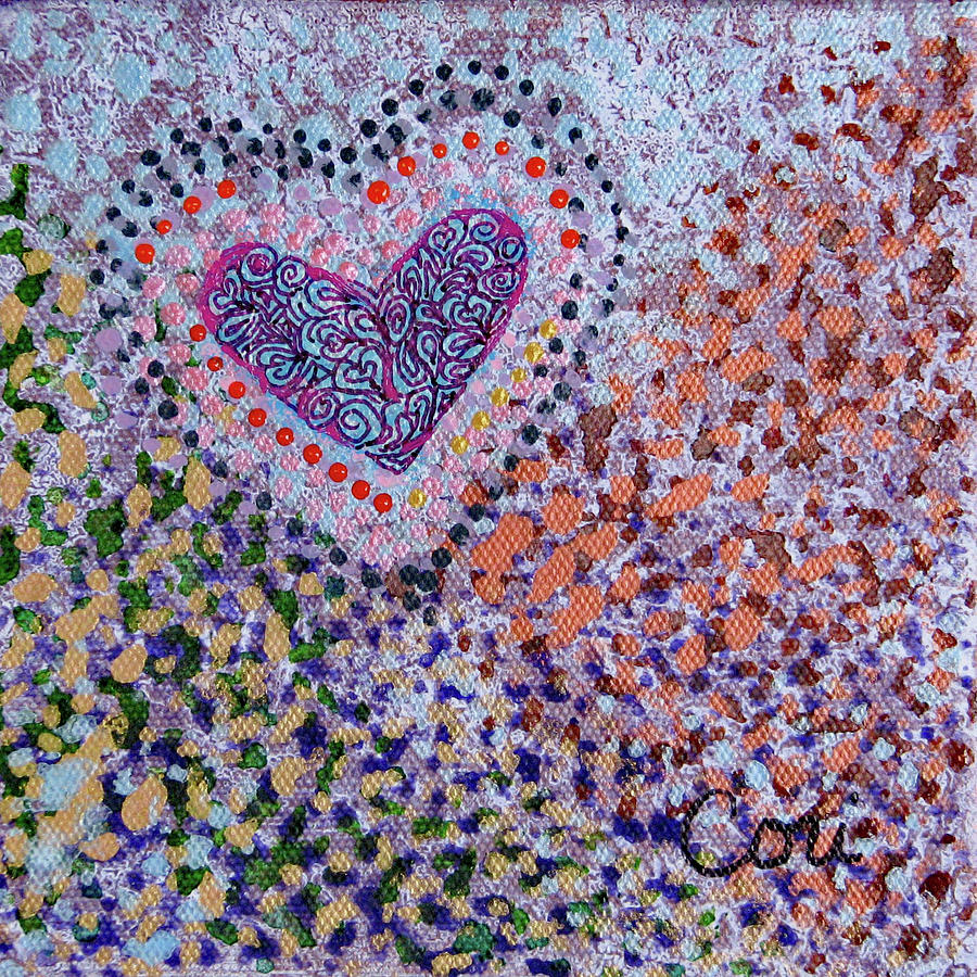 Heart 020 by Corinne Carroll