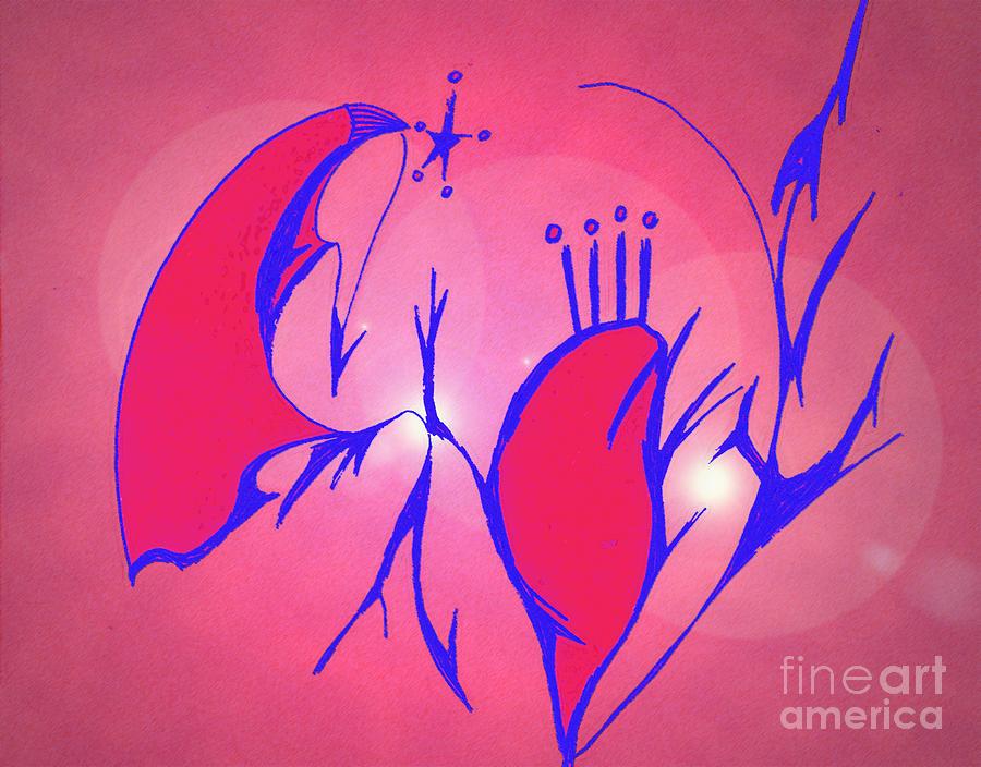 Heart Digital Art - Heart Beat by Mary Mikawoz