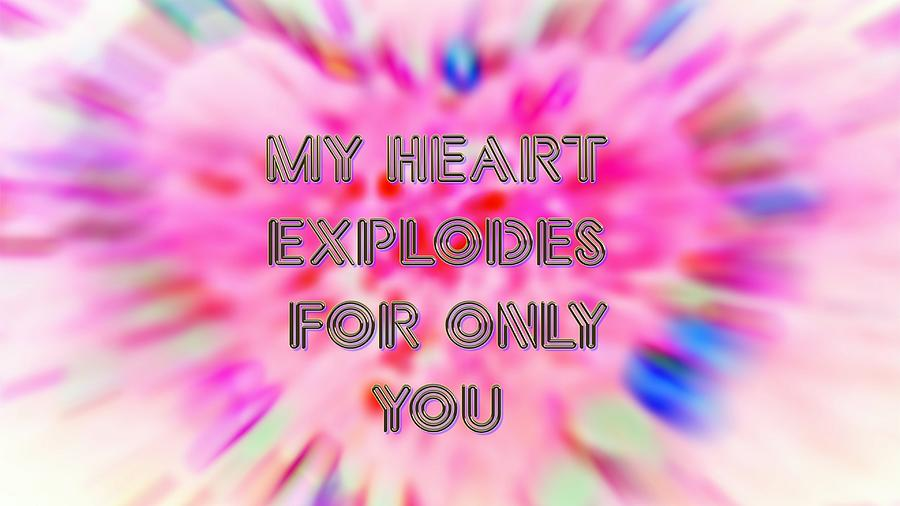 Heart Explosion Valentine by Judy Kennedy