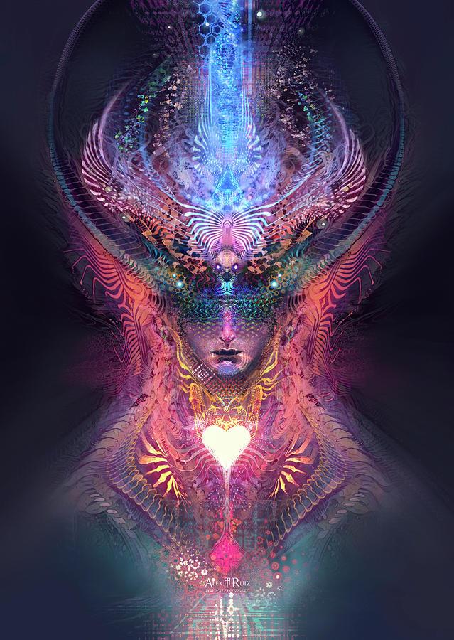 Heart Mind Digital Art