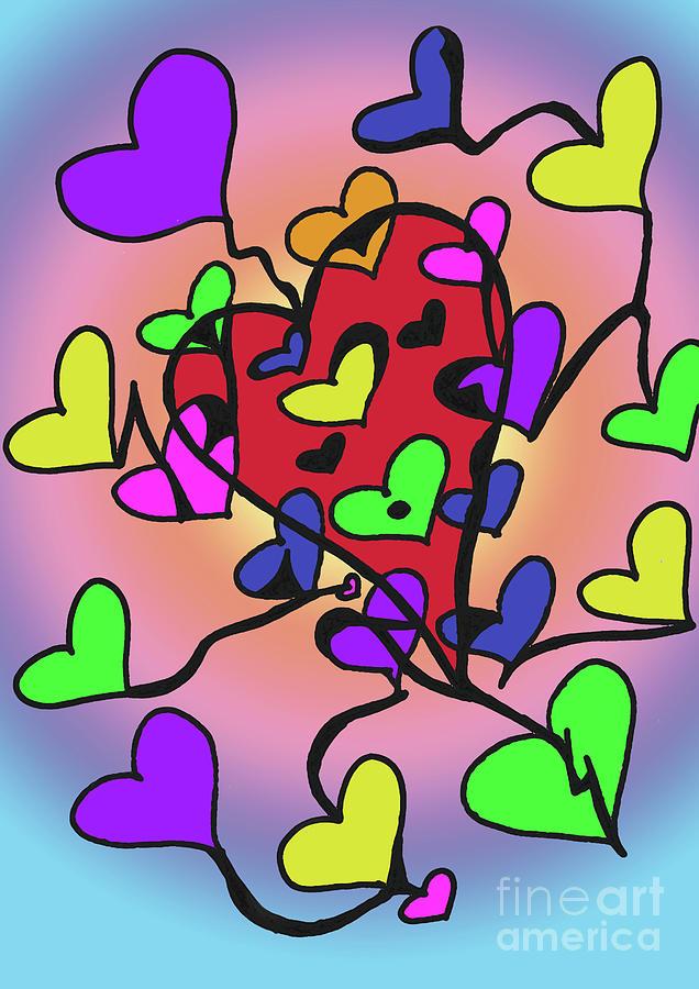 Heart Of God Digital Art