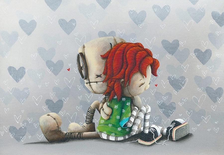 Heart Digital Art - Heart To Heart by Fabio Napoleoni