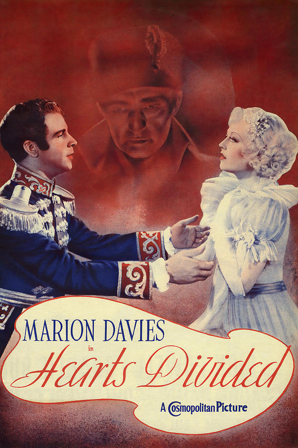hearts Divided, With Marion Davies And William Powell, 1936 Mixed Media