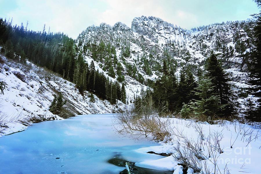 Heather Lake Photograph