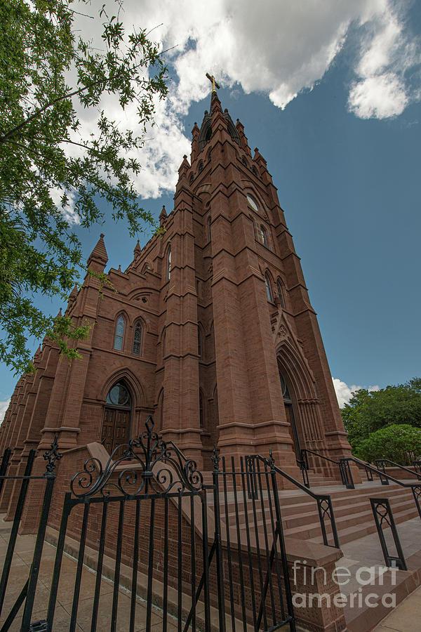Heavenly Cross - Charleston Churches Photograph