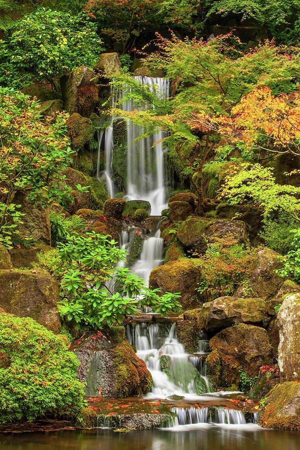Heavenly Falls Photograph