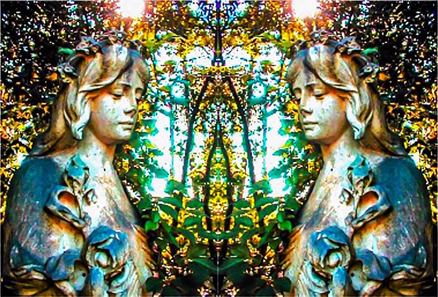 Angels Digital Art - Heavens Window by Jeremy Edsall
