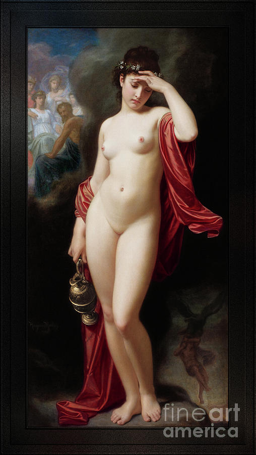 Hebe After The Fall by Hugues Merle by Xzendor7