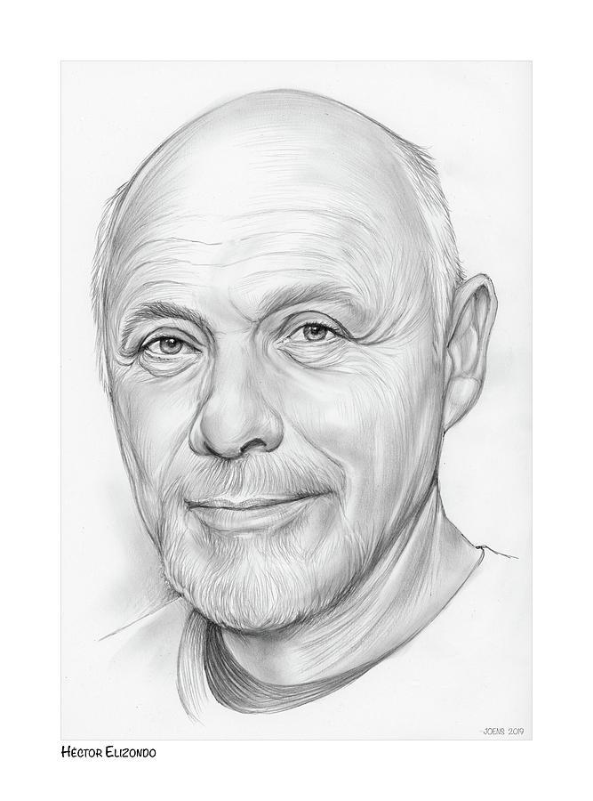 Hector Elizondo Drawing