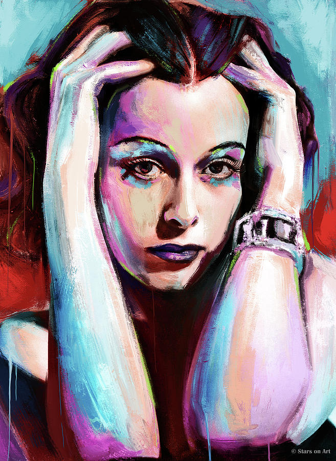 Hedy Lamarr Painting Painting