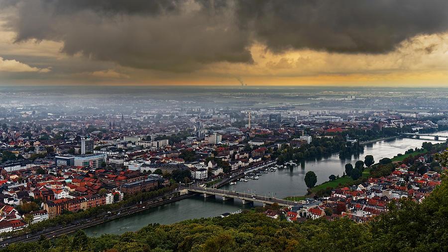Architecture Photograph - Heidelberg Mitte by Jussi Laasonen
