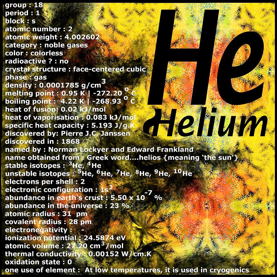 Helium Digital Art