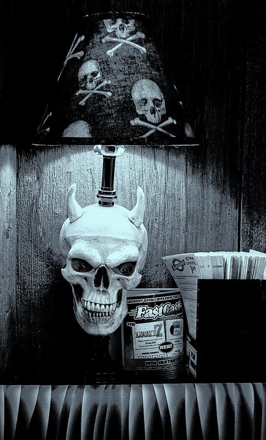 Hell Saloon Lamp by Tom Singleton