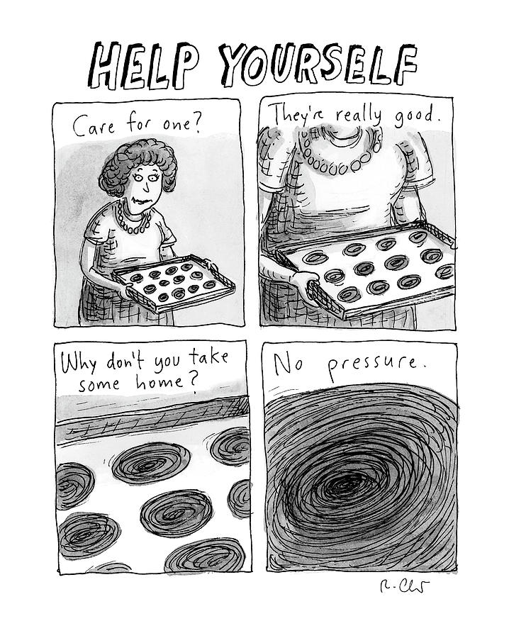 Help Yourself Photograph by Roz Chast