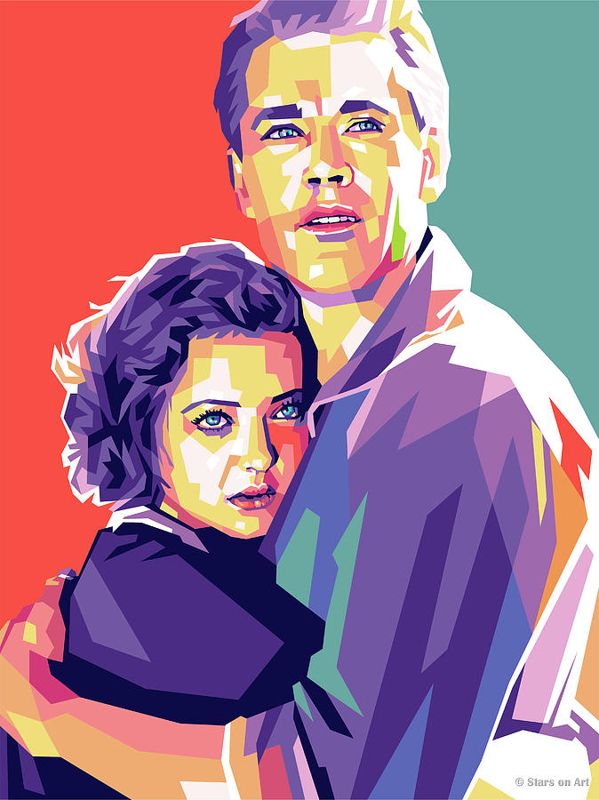 Henry Fonda And Sylvia Sidney Digital Art