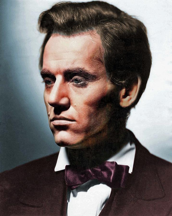 Henry Fonda Colorized Photograph