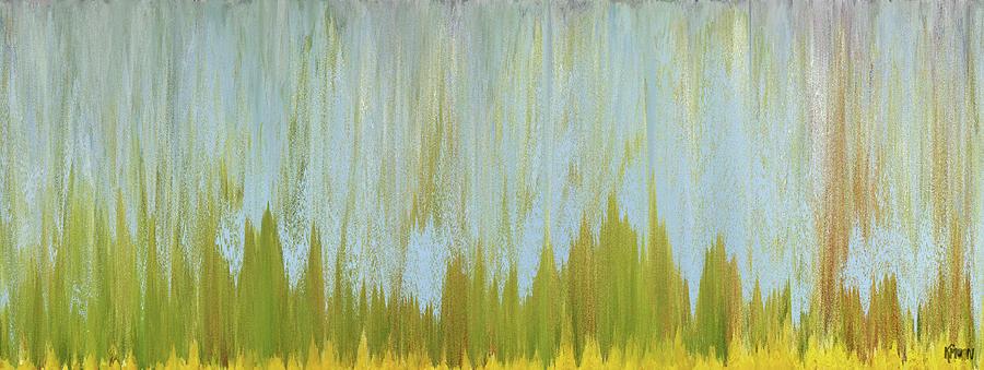 Digital Digital Art - Herbes folles by The KMoon