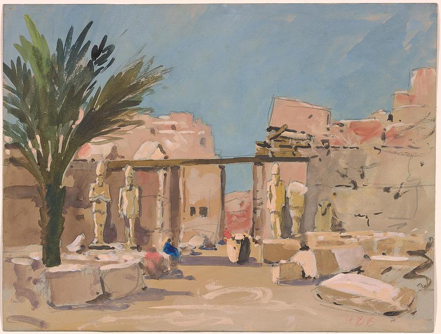 Hercules Brabazon Brabazon Luxor Painting