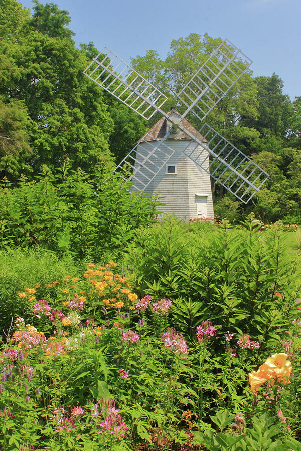 Heritage Gardens Windmill Cape Cod Photograph
