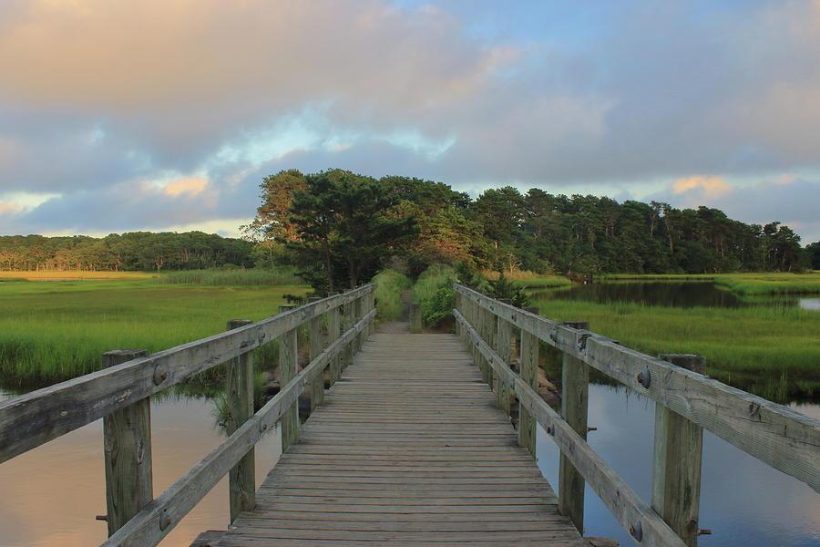 Herring River Bells Neck Bridge Photograph