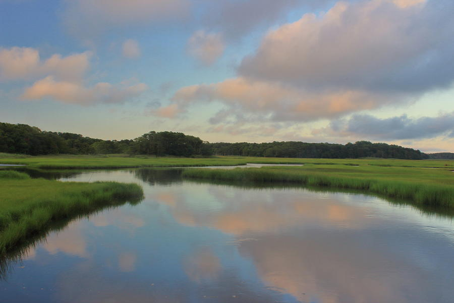 Herring River Cape Cod Sunset Photograph
