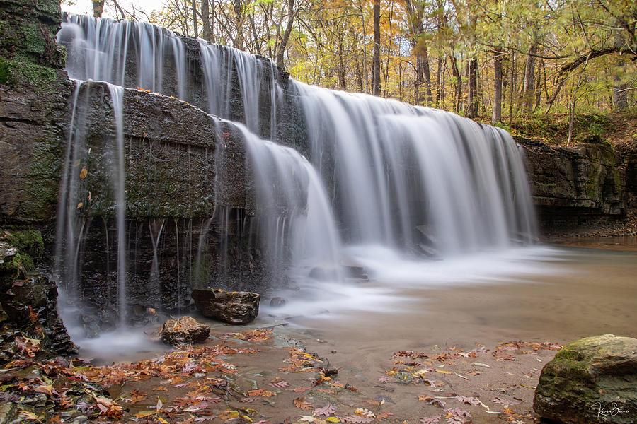 Hidden Falls Signed by Karen Biwersi
