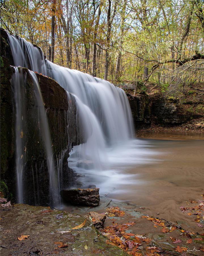 Hidden Falls Vertical Signed by Karen Biwersi