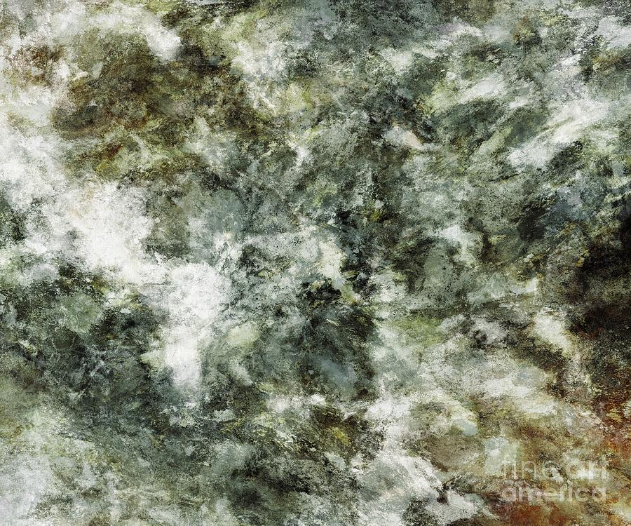 Natural Digital Art - Hidden Wolves by Keith Mills