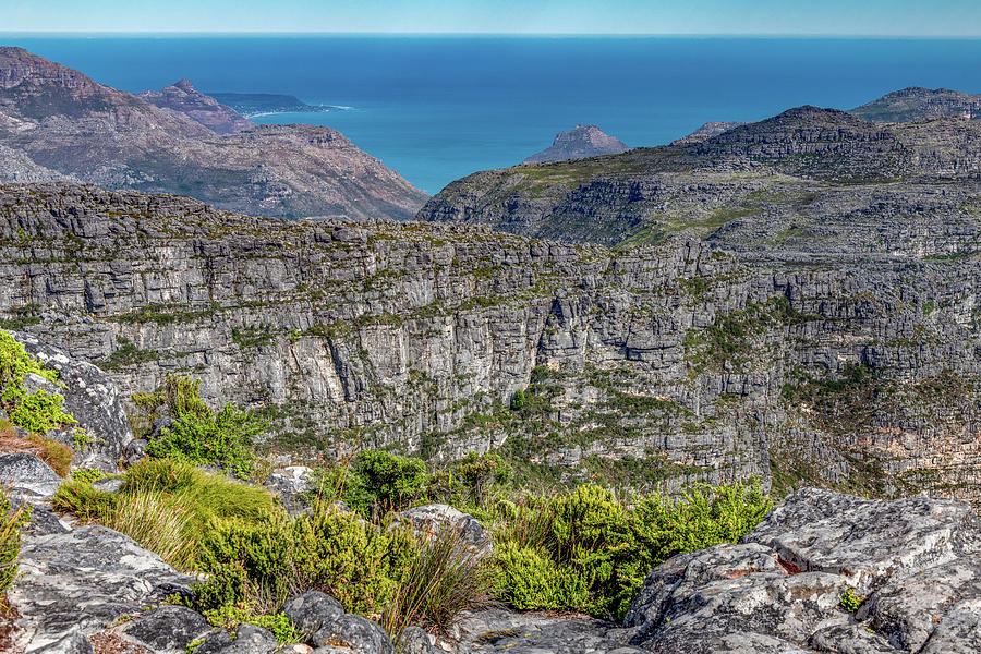 High and Rugged Table Mountain by Marcy Wielfaert